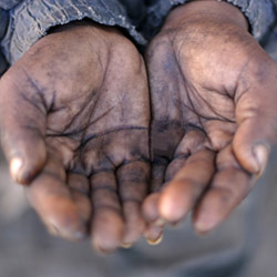 beggar-hands