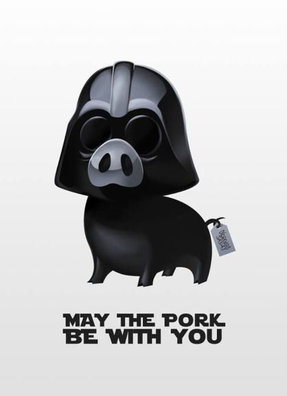 may the pork be with you